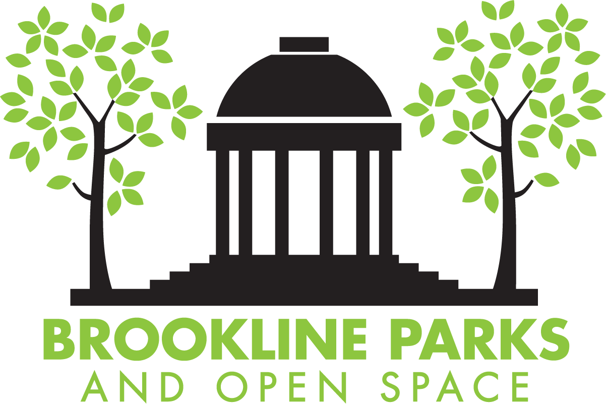 Brookline Parks and Open Space Logo