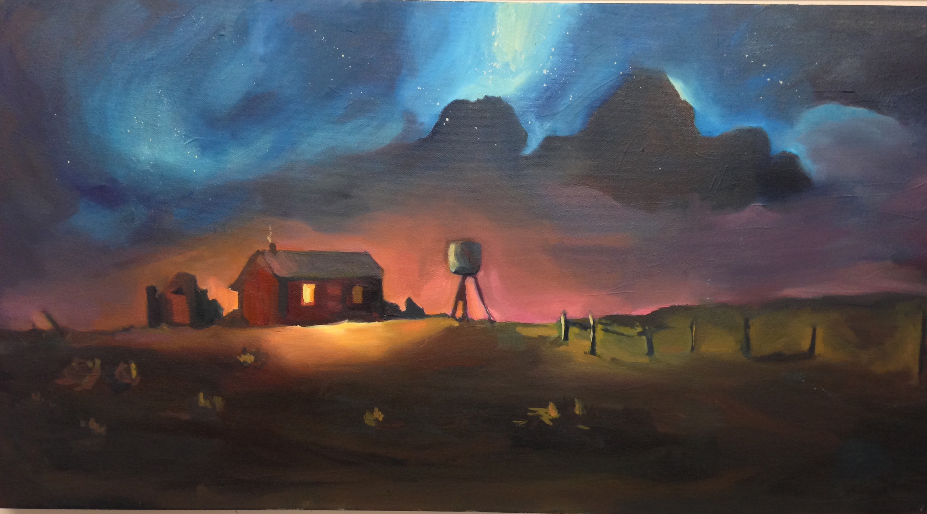 """""""Dust-Scape, Midnight"""" by Nicole Gsell"""
