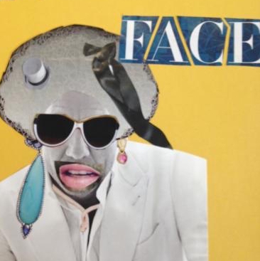 Collage from Faces and Figures Intensive