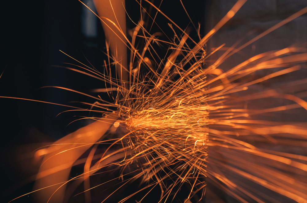 stock photo of sparks